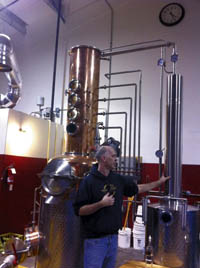 brad irwin of oregon spirit distillers
