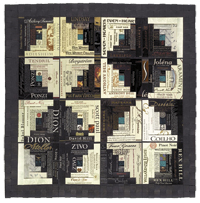 betty gray_van leunen - wine country quilt 9 - pinot noir